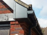 Custom coloured UPVC square guttering
