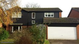 midnight black hardieplank cladding upvc black ash fascias soffits