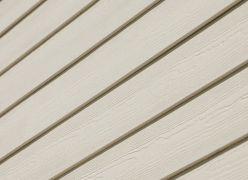 Hardieplank weatherboard cladding woodland cream