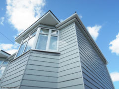 Fibre cement weatherboard cladding install
