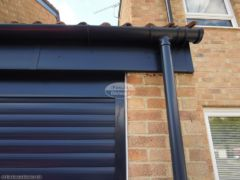 RAL custom coloured UPVC fascia and guttering installation