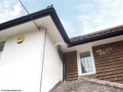 Replace soffit, fascia and guttering with UPVC