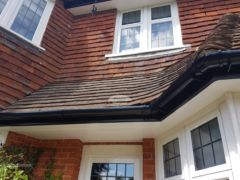Replacing fascias soffits guttering with upvc