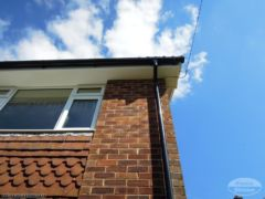 UPVC plain soffit and fascia replacement