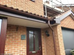UPVC cladding on a porch
