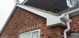 cement mortar repointing gable end