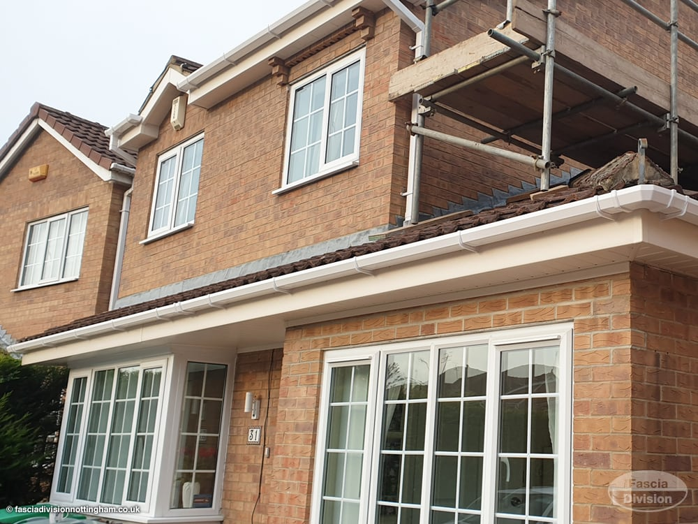Fascias and soffits replacement Nottingham