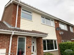 install new weatherboard cladding