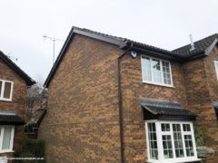 new UPVC fascias and soffits in rosewood UPVC Nottingham