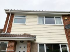 Replace wood shiplap cladding with new Hardieplank