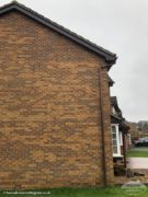 rosewood UPVC bargeboard and soffit